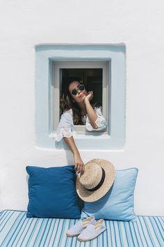 Santorini | Collage Vintage