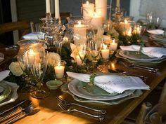 faire table de fête de décoration pour Noël lui-même