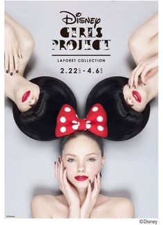 ディズニーガールズキャラクターの限定商品を販売!45店舗が合計90アイテム以上展開! #poster #typography #design