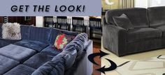 Get The Look! Gray Sectional Sofa