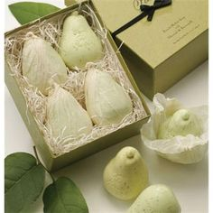 Decorative Soap   Pears   Fruit Soaps   French-Milled   Novelty Soap   Gianna Rose Atelier®