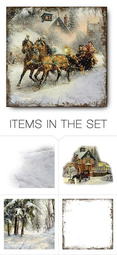 """""""❄Sleigh Ride❄"""" by cindu12 ❤ liked on Polyvore featuring art"""