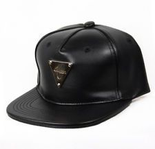 754a3671d1998 Hater Lambskin Leather Snapback Hat Cap 5 panel NEW  34.00