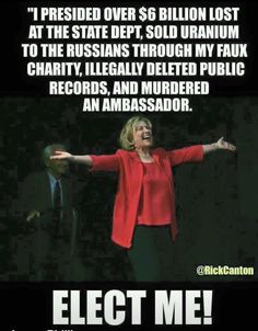 this does NOT need to be the Next President....