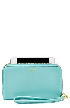 Fun fossil iPhone wallet - love the color and the price. Win!
