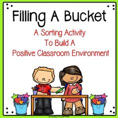 Have You Filled A Bucket Today is a great book to help build a positive classroom environment. I created this free resource to use in my classroom as a supplemental activity after we read this amazing book.This is a sorting activity. I have also included a picture of the anchor chart my class completed after we read the story.Thank you for visiting my store!Click on the links below for additional back to school items: All About Me - Back To School Graphic Organizer The Back To School Buzz…