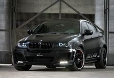 BMW CLR X 650 Lumma Design black Mat Экстерьер (photo 3)