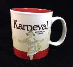 Starbucks Karneval Germany Mug Clown Dancer Red Deutschland New Icon Köln #Starbucks