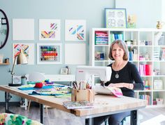 Quilt pro Nancy Smith shares why a makerspace is so much more than just an extra…