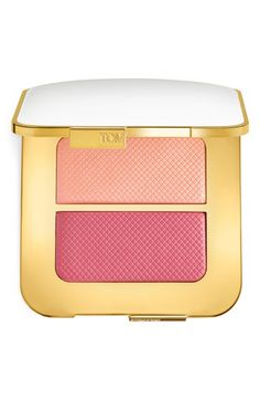 Free shipping and returns on Tom Ford Sheer Cheek Duo at Nordstrom.com. Tom Ford Bicoastal Sheer Cheek Duo features a pair of petal-perfect pinks that give your bronzed summer skin a light-reflective finish. The soft pink highlighter and bold rose blush can be applied wet for a soft veil of color or dry for a sweeping pop of vibrancy. They can be worn alone or together for long-lasting color that blends easily.