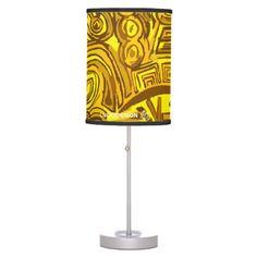 Lámpara Symbols Yellow
