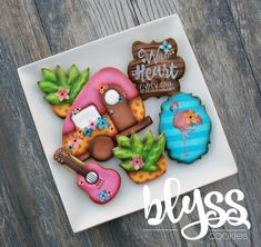"""263 Likes, 21 Comments - Laurie & Jeanette (@blysscookies) on Instagram: """"Here is the complete set for our June Cookie Classes! We can't wait! #blysscookies #gypsy…"""""""