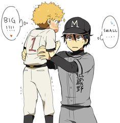 Tags: Anime, Cap, Baseball, KL, Ookiku Furikabutte, Baseball Uniform, Ren Mihashi
