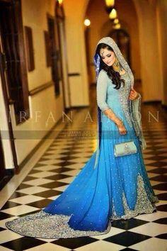 Beautiful Pakistani Bridal Dress  Replica available at BeingWoman.pk Contact BeingWoman.pk@gmail.com