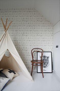 Inspírate con un dormitorio infantil en blanco y negro, al más puro estilo nórdico ~ The Little Club