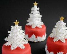 How to make Snow Flake Trees - Laura's Bakery