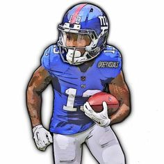 odell beckham jr cartoon Google Search Projects to Try