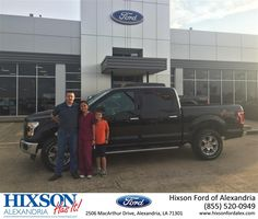 Happy Anniversary to Ray and Cara on your #Ford #F-150 from Randall Thompson at Hixson Ford of Alexandria!  https://deliverymaxx.com/DealerReviews.aspx?DealerCode=UDRJ  #Anniversary #HixsonFordofAlexandria