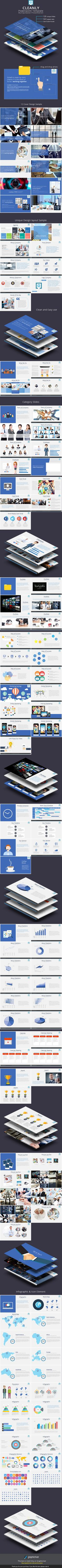 Cleanly Powerpoint Template