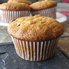 Banana Muffins II - I just made these and they are delicious!  I added 1 tsp vanilla and 1 tsp cinnamon to the recipe. Sooooo good!