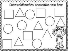 Shapes Worksheets, Triangle, Geometric Fashion, Early Education, School, Shapes, Pine