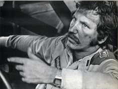 Mark Sluder captured this fabulous shot of Dale Earnhardt at age 30 ...