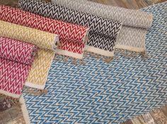 HAND LOOMED SOFT COTTON JUTE TEAL BLUE HERRINGBONE INDIAN RUG 90cm x 150cm in Home, Furniture & DIY, Rugs & Carpets, Rugs | eBay