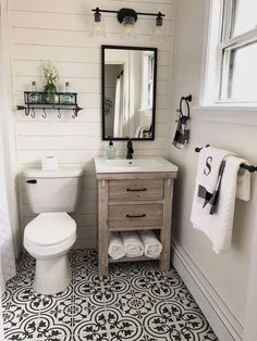 If you are looking for Small Bathroom Makeover Ideas, You come to the right place. Below are the Small Bathroom Makeover Ideas. This post about Small Bathroo. Bathroom Inspiration, Bathroom Interior, Small Bathroom, Bathroom Farmhouse Style, Amazing Bathrooms, Bathroom Decor, Small Farmhouse Bathroom, Bathroom Design Small, Small Bathroom Decor