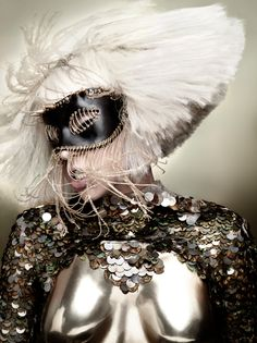 Lady GaGa, and yes....it was strange....in a wonderful way!