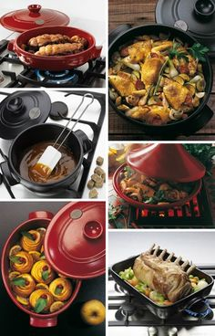 Emile Henry Flame Top Cookware