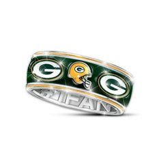 Officially Licensed Packers Unisex Spinning Band Ring Yes.
