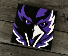 Ravens Painting | 24 Super Bowl-Themed Crafts You Can Buy This Very Second