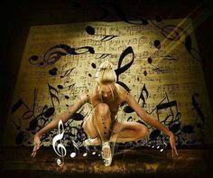 Dance while the music goes on. Shared from fb. Music Photo, Just Dance, Beautiful Soul, Music Notes, Art Music, Techno, Art Photography, Statue, Artist