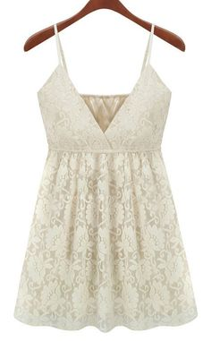 Shop White V-neck Spaghetti Strap Lace Cami Top online. SheIn offers White V-neck Spaghetti Strap Lace Cami Top & more to fit your fashionable needs. Halter Top Shirts, Lace Halter Top, Lace Tank, Halter Tops, Belted Dress, Dress Up, Dress Shoes, Look Fashion, Womens Fashion