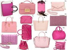 Top Bags to Show Your Strength: Pink is the New Black