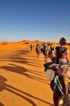 Morocco Camel Trekking Merzouga
