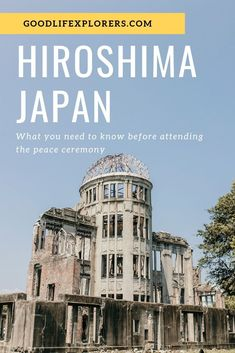What you need to know before attending the Peace Memorial Ceremony in Hiroshima Japan.  #hiroshima #japan #peacememorial #park #anniversary #nuclear #bomb #attack #lantern #festival #culture #history #travel #travelguide #whattodo #whattosee