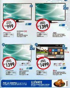 Televisores en Oferta de Tottus del 13-11-2014