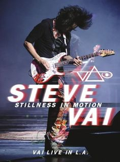 "Steve Vai: nuovo video ""Building the Church"" dal DVD ""Stillness In Motion"""