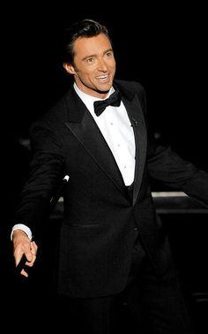 Hugh Jackman, a song and dance man.