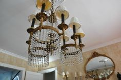 Chandelier & Matching Sconces