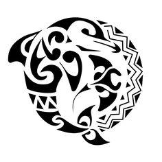 Tribal Dolphin Stingray