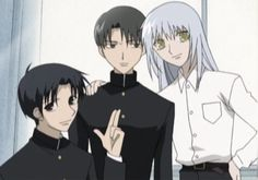 Young Hatori, Shigure, and Ayame... (fruits basket)