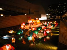 Autumn Moon Festival, Festivals Around The World, Mid Autumn, Dyi, Hong Kong, Mall, Lanterns, Christmas Tree, Lights