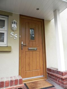 A beautiful Light Oak English Cottage Ultimate Rockdoor. #Rockdoor #CompositeDoor #HomeImprovement
