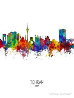 Iran poster & iran-plakat & poster iranienne & cartel de irán & iran t . Framed Prints Uk, Poster Prints, Art Prints, Poster Poster, Iran Girls, Museum Poster, Art Museum, Iran Tourism, Cityscape Art