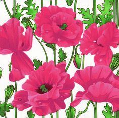 l'oiseau - Poppies: Cotton Poplin, Stenzo (http://www.loiseaufabrics.com/poppies-cotton-poplin-stenzo/)
