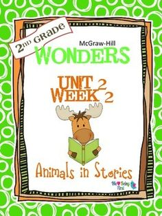 If you are already using or you are new to the Wonders Reading Program, this 55 page packet is for you. You'll have help with weekly lesson planning, printables for centers or word work activities, anchor charts, writing activities, high frequency word practice, an abundance of spelling activities, and much, much more.Check the table of contents below and our preview to see exactly what is included in the packet.