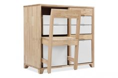 This innovative cabinet has been created by Uruguayan industrial designer Claudio Sibille. The piece merges storage with seating in one compact solution. Brilliant for studio apartments where space...