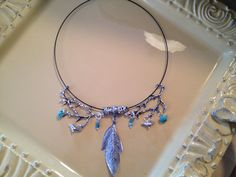 Branch and wire necklace by MyFavoriteAccessory on Etsy, $24.00